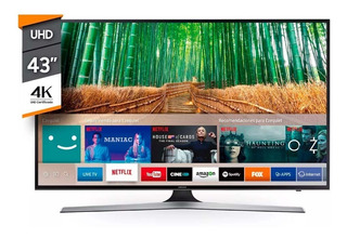 Smart Tv Samsung Ultra Hd 43 4k Un43mu6100 Impecable Estado