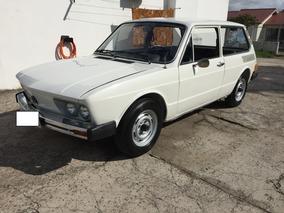 Vw - Volkswagen Brasilia Placa Preta 1978