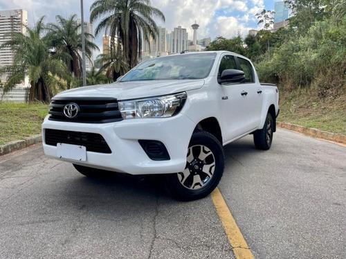Imagem 1 de 15 de Toyota Hillux Power Pack Cd 4x4 Diesel 2019 (manual)