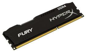 Memória Desktop Hyperx Fury 16gb Ddr4 2400mhz Hx424c15fb/16