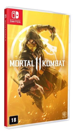 Mortal Kombat 11 - Switch - Mídia Física!