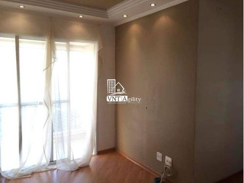 Apartamento Em Condomínio Padrão Para Venda No Bairro Vila Carmem, 3 Dorm, 1 Vagas, 61 M² - Vila Ema !! - 8038
