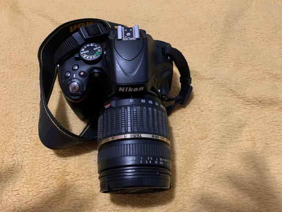 Câmera Fotográfica - Nikon D5100 + Brinde!