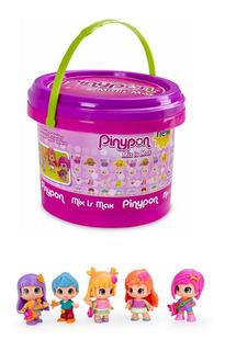 Pinypon Balde Con 5 Figuras Y Accesorios Mix Is Max Original