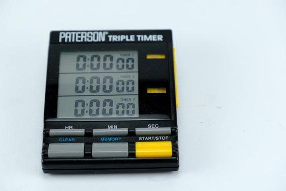 Paterson Triple Timer - Temporizador De Quarto Escuro