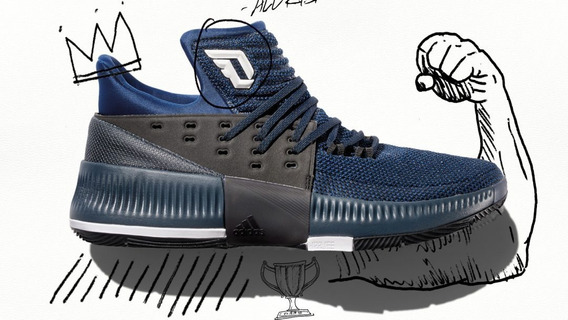 Tênis adidas Dame 3 By Any Means