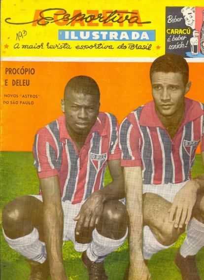 A Gazeta Esportiva Ilustrada Nº 193 - 1961 - Pôster Guarani
