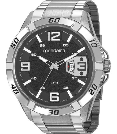 Relógio Masculino Mondaine Prata 53834g0mvne1