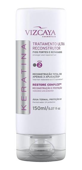 Tratamento Ultra Reconstrutor 150ml Vizcaya