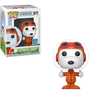 Funko Pop! Animation Peanuts Astronaut Snoopy Sdcc