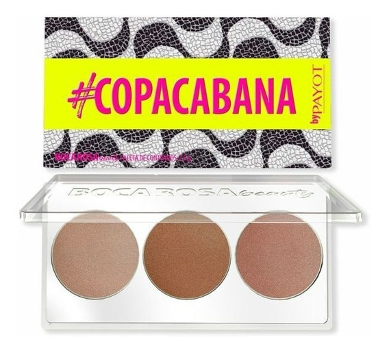 Paleta Copacabana Contorno Boca Rosa Beauty By Payot
