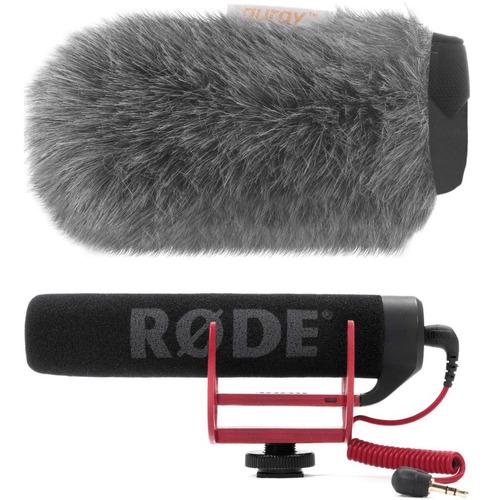 Imagem 1 de 5 de Microfone Rode Go C/ Deadcat Vento Shotgun Canon Nikon Sony