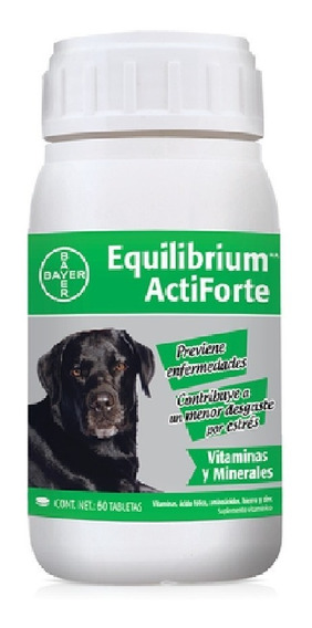 Vitaminas Equilibrium Bayer Actiforte 60 Tabletas