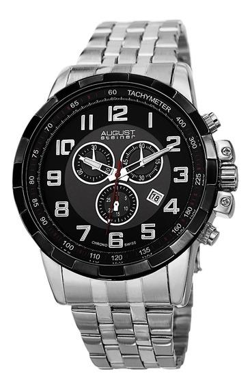 Reloj De Pulsera De Acero Inoxidable De Cuarzo Suizo As81