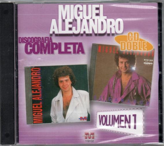 Cd Miguel Alejandro Dicografia Completa Vol1 Musicanoba