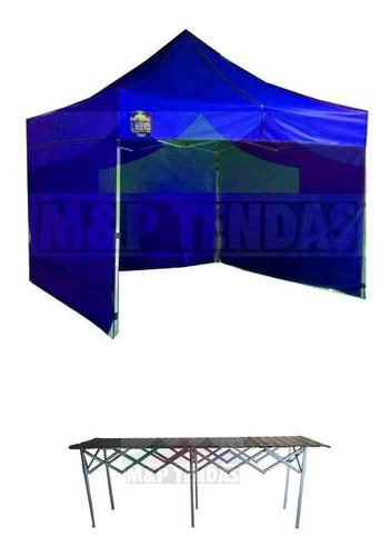 Tenda 3x3 Com 3 Laterais E 1 Balcão 3 Metros X 0,75cent