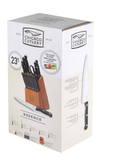 Set De Cuchillos Chicago Cutlery Essence 23 Pzs