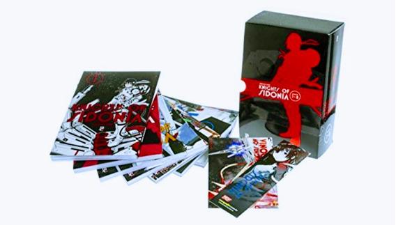 Box Livros Knights Of Sidonia 1 Ao 8 - Novo E Lacrado