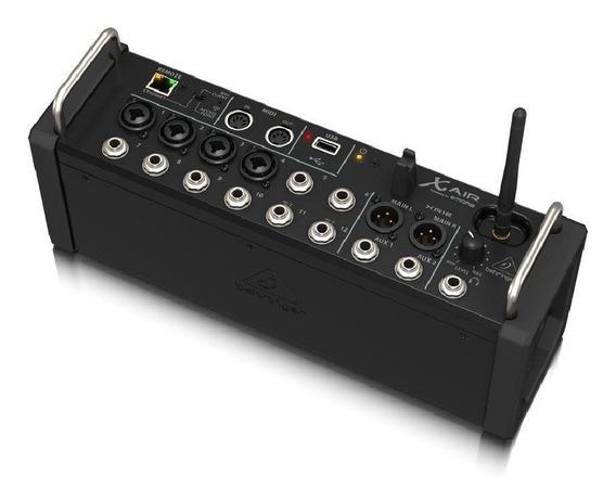 Mesa De Som Digital Behringer X-air Xr12 P/ Tablet C/ 4 Prés