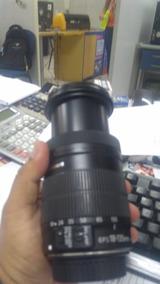 Lente Canon 18-135 Efs Macro