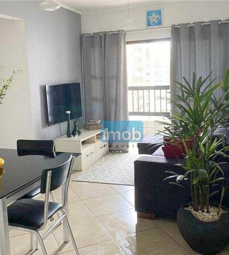 Imagem 1 de 17 de 50mts Da Praia , Apartamento Em Predio Com Elevador, 2 Dorms, 2 Wcs, Dep. Empregada E Vaga De Garagem Demarcada. - Ap7979