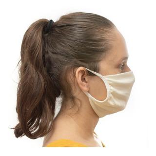 30 Eco Mascara Tecido Dupla Proteção Lavável Não Descartável