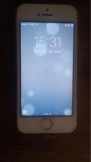 iPhone 5s Com Carregador , Conservado, Apenas Marcas De Uso