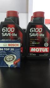 4 Oleo 0w20 Motul Save Lite C/ Filtro Linha Honda