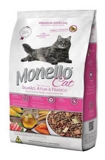 Monello Cat Salmon Y Atun X 15 Kilos - kg a $11633