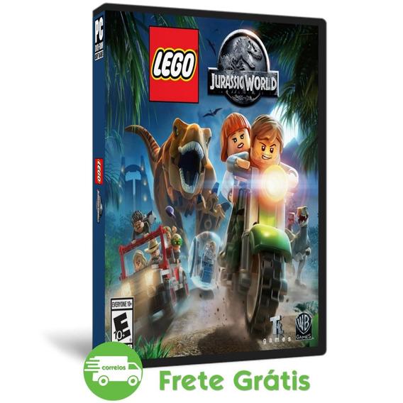 Lego Jurassic World Pc Português Dublado - Produto Novo Dvd