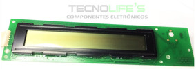 Display Lcd 40x2 Fundo Verde Com Backlight Letra Preta