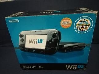 Nintendo Wii U Delux 32gb Programado