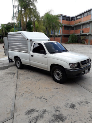 Toyota Hilux Pick Up Con Furgon Automatica