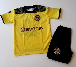 Conjunto De Futebol Infantil Camiseta Times Kit Uniformes