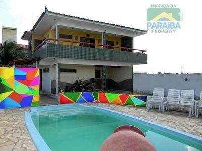 Casa Aluguel Temporada - Praia Do Poço - Cabedelo- Pb - Ca0210