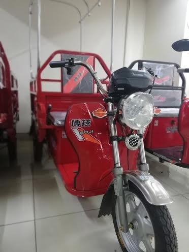 Triciclo Electrico, De Carga Para 300 Kg.