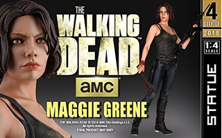 The Walking Dead Lote Estatuas 1/4 Sideshow