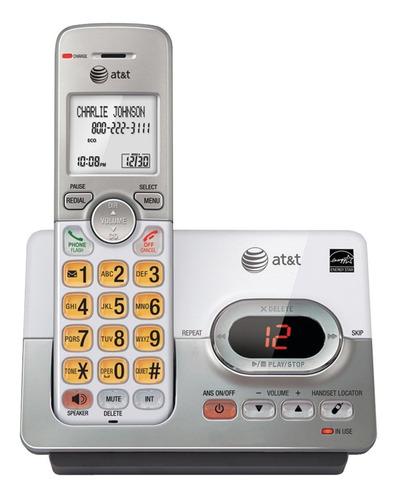 Imagen 1 de 2 de Teléfono inalámbrico AT&T EL52103 plateado