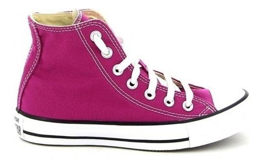 Zapatillas Converse Rosa Seasonal Hi Pink Botitas All Stars