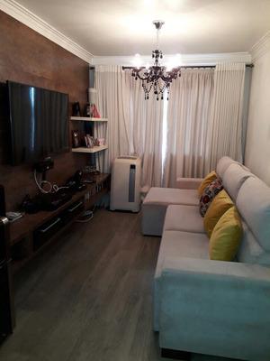 Apartamento 2 Dorms Todo Mobiliado, Lindo,pronto Para Morar.