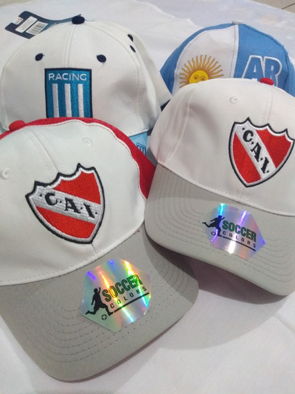 Visera Independiente Racing Argentina Ultimas Oferta!!!!