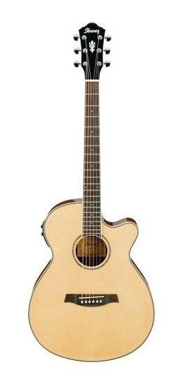 Guitarra Electro Acústica Ibanez Aeg10ii Nt Nat Con Fishman