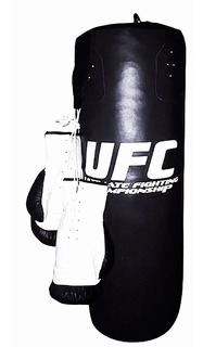 Kit Costal De Box Y Guantes De Boxeo 14 Oz