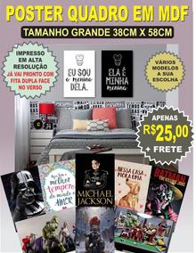 Poster Quadro Darth Vader Michael Jacson Batman Frida Kal