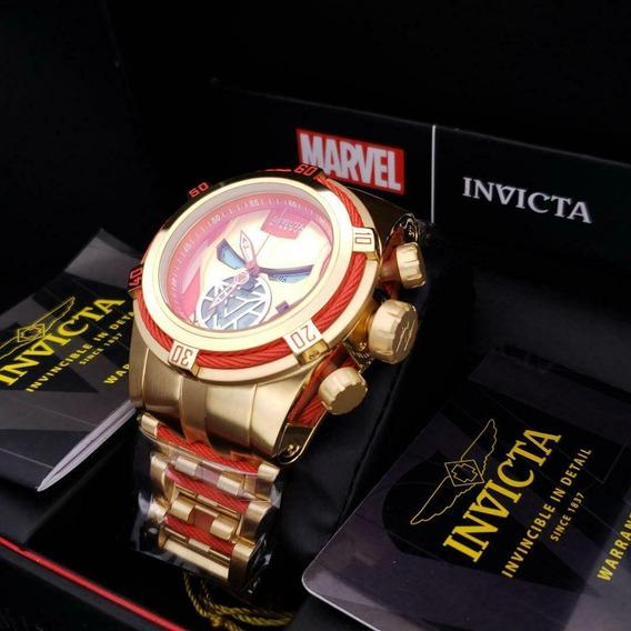 Relógio Invicta Marvel Homem De Ferro Original Modelo 27100