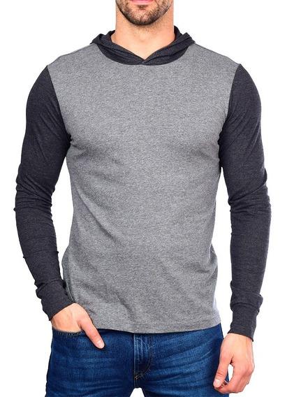 Blusa Camisa Camiseta Blusa Masculina Gola O Capuz Lisa