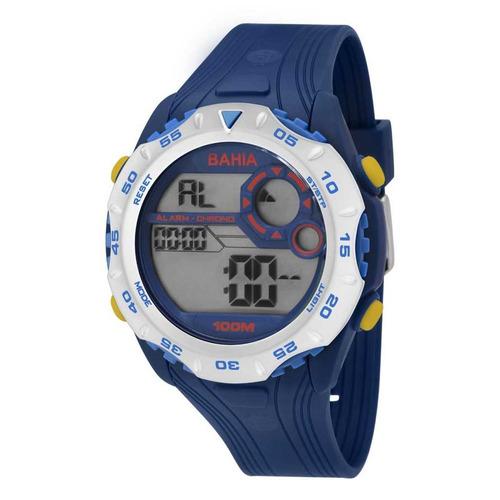 Relógio Oficial Do Bahia Digital Technos Bfc13602/8a Origina
