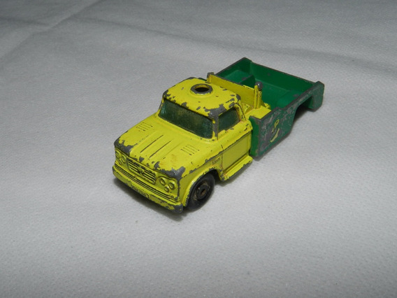Sucata Leia! Miniatura Matchbox Dodge Wreck Truck Loose 1968