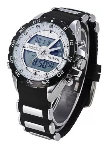 Relógio De Pulso North N6016 Sport Watch Masculino