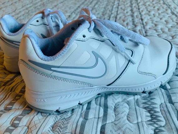 Zapatillas Nike Cuero Impecables! Nena Talle 32/33